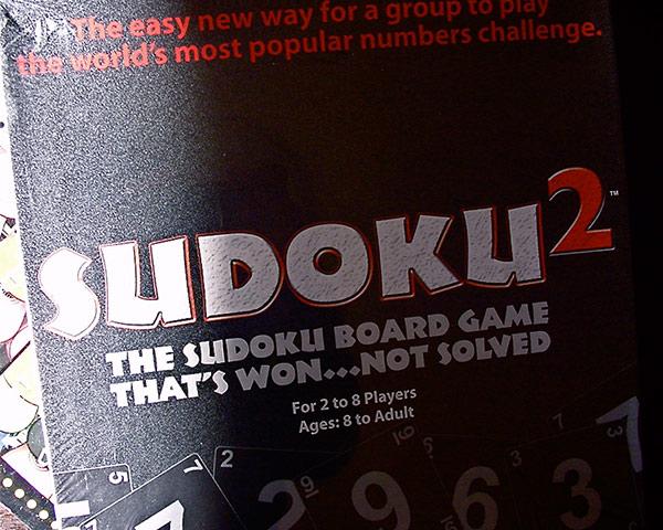 数独ボードゲーム SUDOKU2