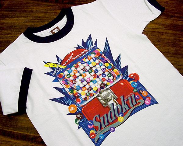 数独Tシャツ「ガムボール」