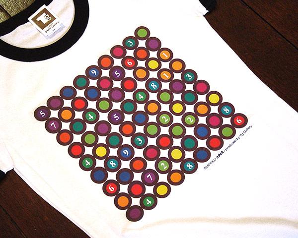 数独Tシャツ「マーブル」