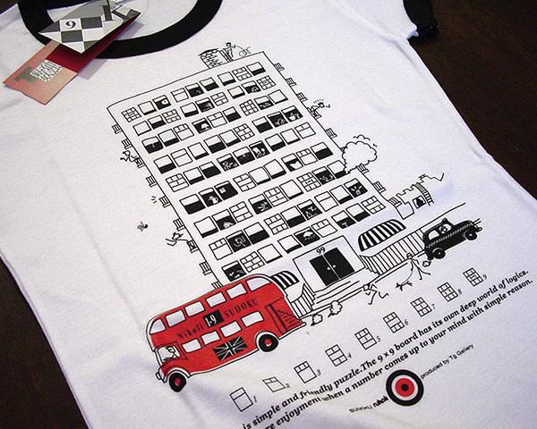 数独Tシャツ「ロンドン」