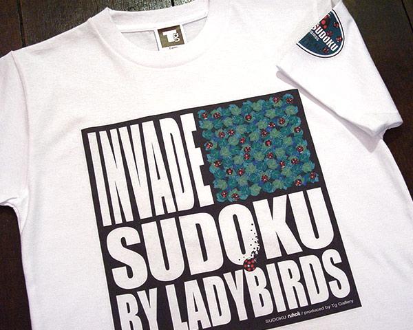 数独Tシャツ「Ladybirds」